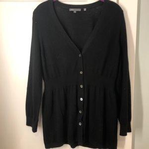 Sweaters - Vince black cardigan Size L